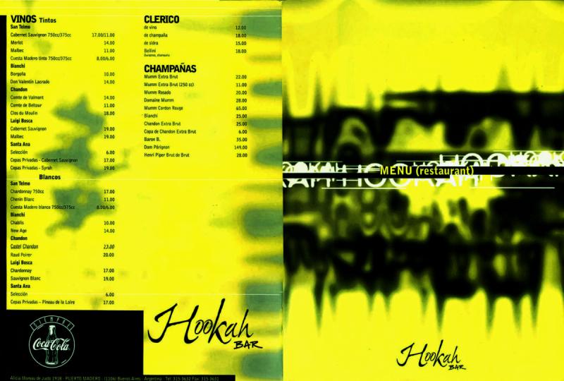 Hookah Bar - Daniel Nieco